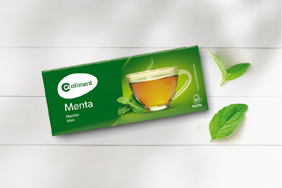 AB Coaliment Infusions Menta-80